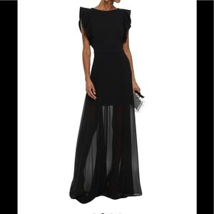 Halston Heritage Black Gown - Tags on, never worn